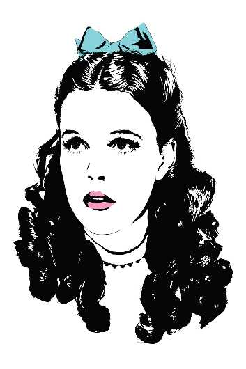 Judy Garland - The Wizard of Oz from the Everything collection by Dropkickers