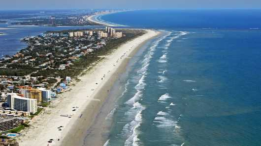 North Beach IV, NSB from the Aerial New Smyrna Beach collection by Russell C Tucker
