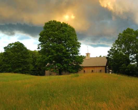 Long Barn Summers Eve from the Barns collection by jndphoto