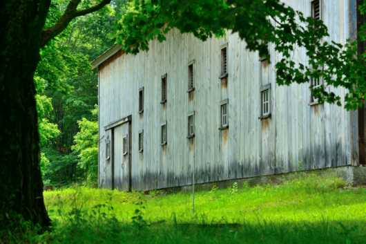 Long Barn - Side  from the Barns collection by jndphoto
