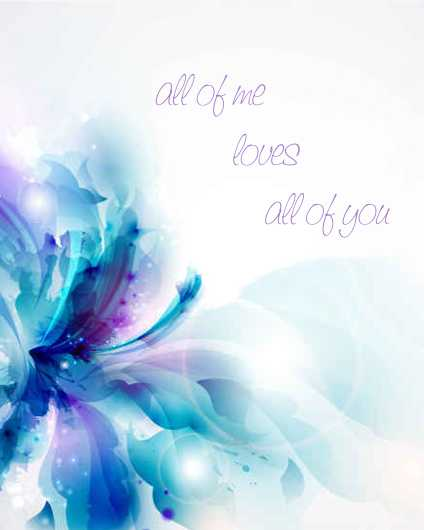 All of Me | John Legend Lyric Inspired Art Print from the Lyric Art Prints collection by Lyrical Perceptions