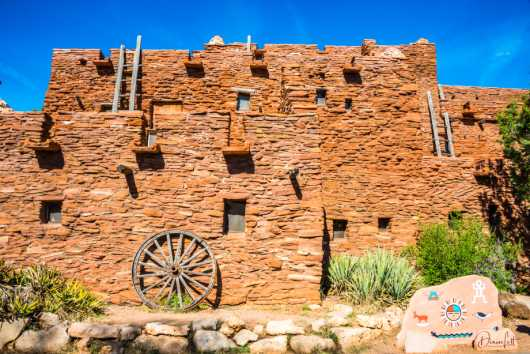 68 Hopi House Grand Canyon Arizona Route 66 from the Route 66 collection by Denise Lett