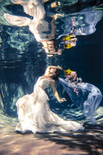 La Mariee Qui se Noie from the Underwater collection by Greyson Carlyle