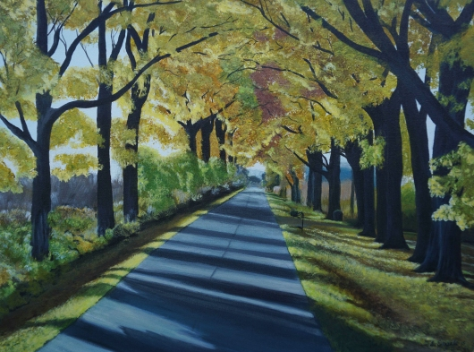 road_to_grandma_s_fall.tiff from the Pathways  collection by Ewaldart