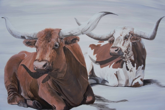 longhorn.tiff from the Other Interior Art collection by Ewaldart