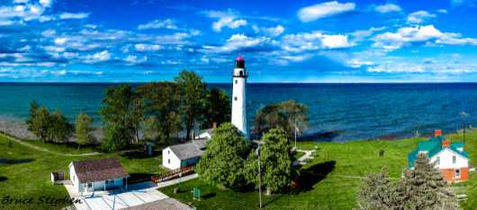 Port Hope from the Panoramic collection by BRUCE STEPHEN