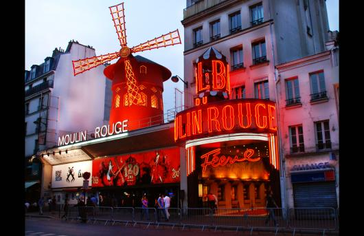 Moulin Rouge from the Buildings and Architecture collection by Sonny Banks Photography