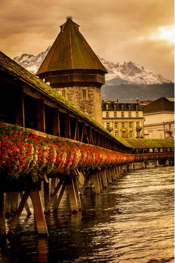 Lucerne Bridge from the Pro Seller Album collection by Sonny Banks Photography