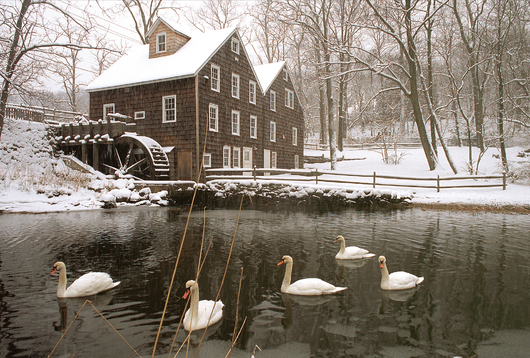 Stony Brook Grist Mill, Stony Brook NY from the Eastern Image collection by Eastern Image