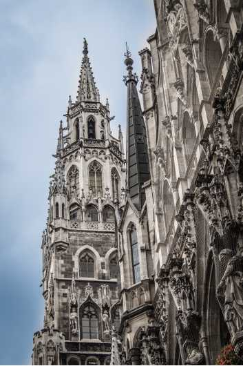 Rathaus Munich from the Cities collection by Alan Ignatowski