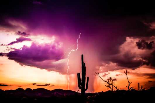 Superstition Storm from the Desert collection by Alan Ignatowski