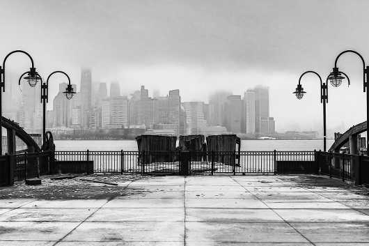 Foggy NYC Skyline. Spring Travel Series.  from the Gallery Selection: July 2016 collection by clear. photography