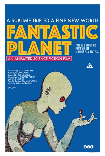 Fantastic Planet Poster from the Astropixel NYC collection by MyHouseCulture.com