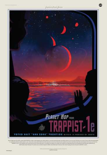 Trappist-1e from NASA Exoplanet Exploration from the NASA Exoplanet Exploration collection by Art4Artists