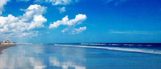 South Beach I, NSB from the New Smyrna Beach collection by Russell C Tucker
